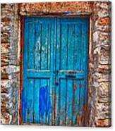 Traditional Door 2 Canvas Print