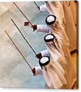 Traditional Emirati Men's Dance  Canvas Print