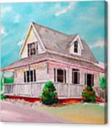 Traditional Home Canvas Print