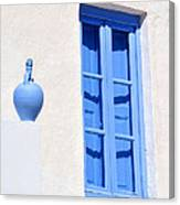 Traditional House In Serifos Town Canvas Print
