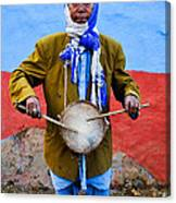 Traditional Musician I Canvas Print