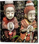 Traditional Thai Welcome Canvas Print