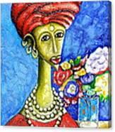 Traditonal Portrait Canvas Print
