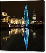 Trafalgar Christmas Tree Canvas Print