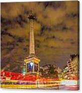 Trafalgar Light Trails Canvas Print