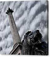 Trafalgar Square London Canvas Print