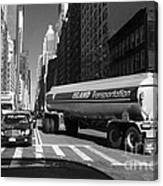 Traffic - New York In Perspective Series Canvas Print