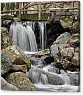 Trail Bridge Canvas Print