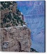 Trail On The Edge Canvas Print