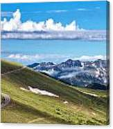 Trail Ridge Road In Rocky Mountain National Park Canvas Print
