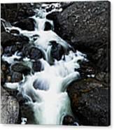 Trailhead Cascades Canvas Print