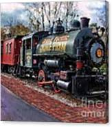 Train At Olmsted Falls - 1 Canvas Print
