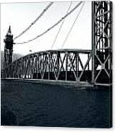 Train Bridge Down Canvas Print