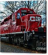 Train - Canadian Pacific 5690 Canvas Print