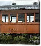 Train Coach Windows Canvas Print