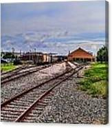 Train Depot Canvas Print