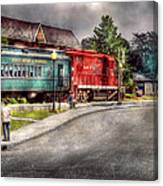 Train - Engine - Black River Western Canvas Print