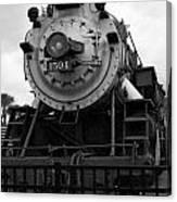 Train Engine Canvas Print