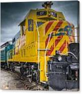 Santa Fe Southern Railway Engine Canvas Print
