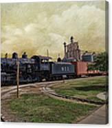Train - Engine Canvas Print