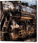 Train - Engine -  Now Boarding Canvas Print