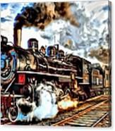 Train II Canvas Print
