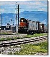 Train In The Mile High Canvas Print