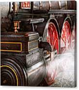 Train - Let Off Some Steam  Canvas Print
