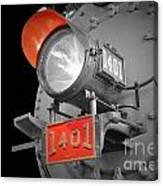 Train Light 1401 Canvas Print