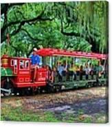 Train - New Orleans City Park Canvas Print