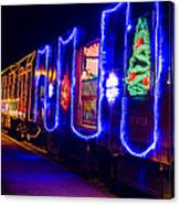 Train Of Lights Canvas Print