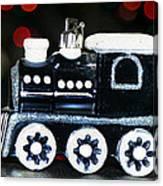 Train Ornament Canvas Print