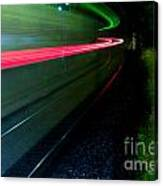 Train Pass By Canvas Print