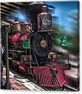 Train Ride Magic Kingdom Canvas Print