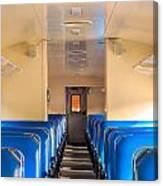 Train Seats Canvas Print