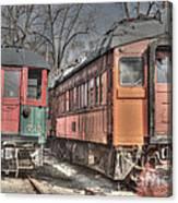 Train Series 4 Canvas Print