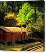 Train Shed Canvas Print