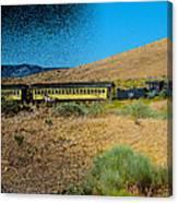 Train-sitions Canvas Print