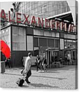 Train Station Alexanderplatz Canvas Print