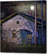 Train Station By Hmi Light Canvas Print