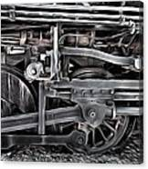 Train - The Wheels Are Turning  Canvas Print