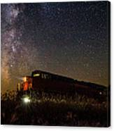 Train To The Cosmos Canvas Print