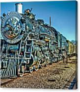 Train Travel Canvas Print