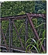 Train Trestle Canvas Print