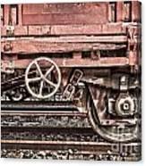 Train Wagon Canvas Print