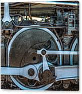 Train Wheels Canvas Print