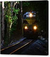 Rails Through The Wilderness Canvas Print
