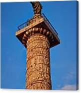 Trajans Column Canvas Print