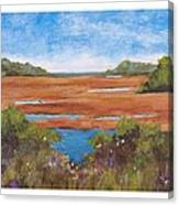 Tranquil Marsh Canvas Print