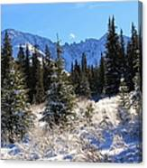 Tranquil Mountain Scene Canvas Print
